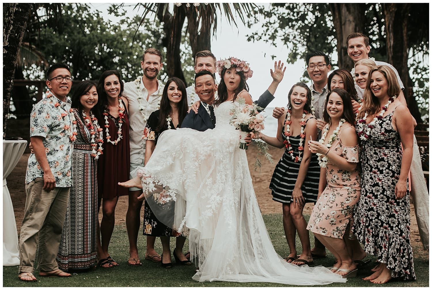 Sacha and Lance Wedding ~ La'ie, Hawaii