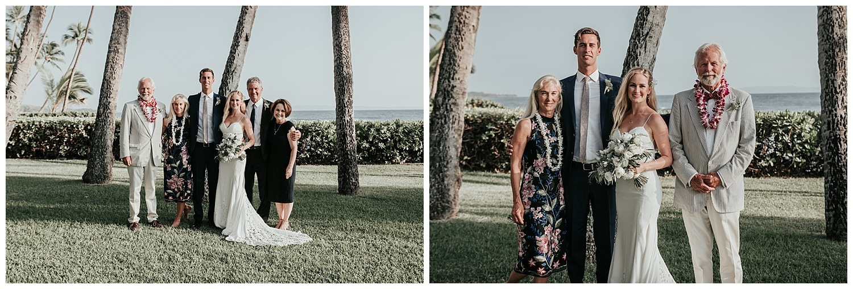 Courtney and Woody ~ Lahaina, Hawaii