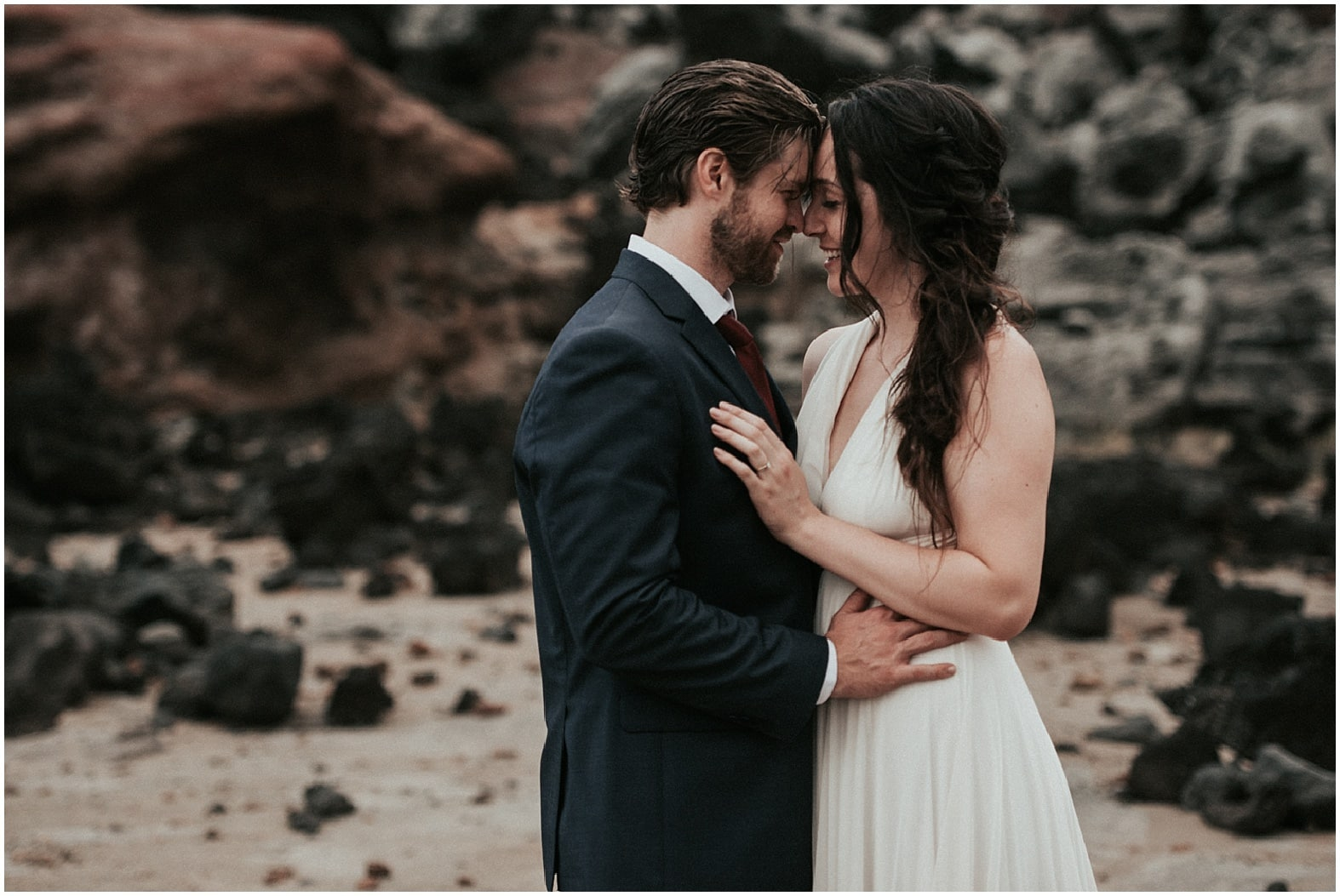 Lauren and Nick ~ Kihei, Hawaii