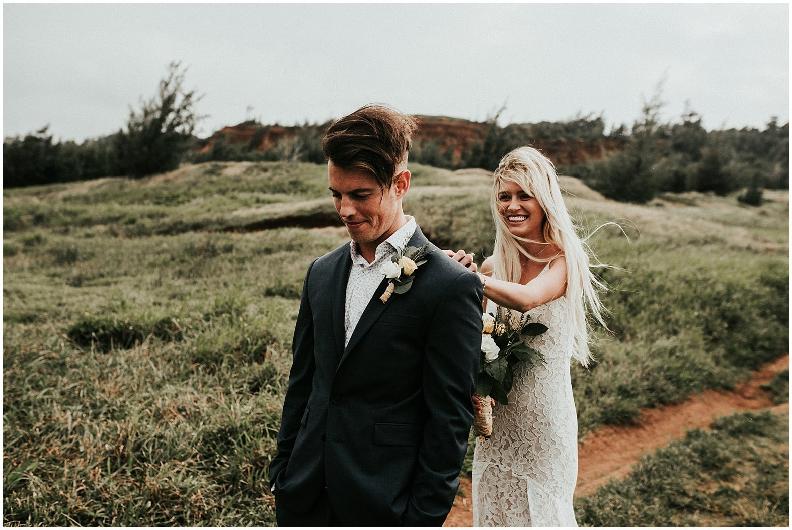 Cienna and Dallin ~ Wailuku, Hawaii