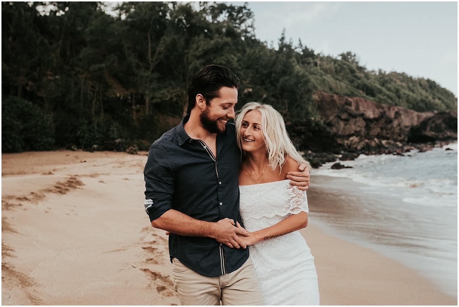 Sam and Raph ~ Napili, Hawaii