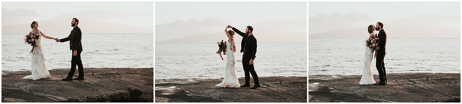 Angela and Christopher ~ Olowalu, Hawaii