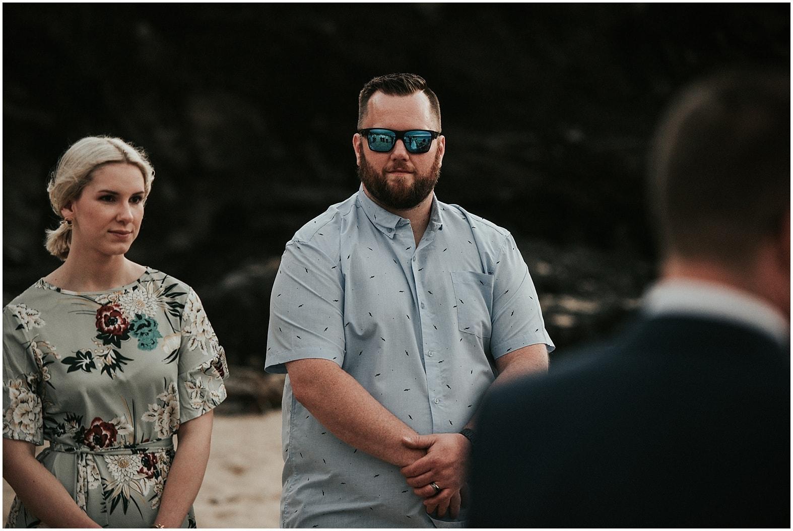 Ashley and Alex ~ Intimate beach wedding in Kapalua, Hawaii