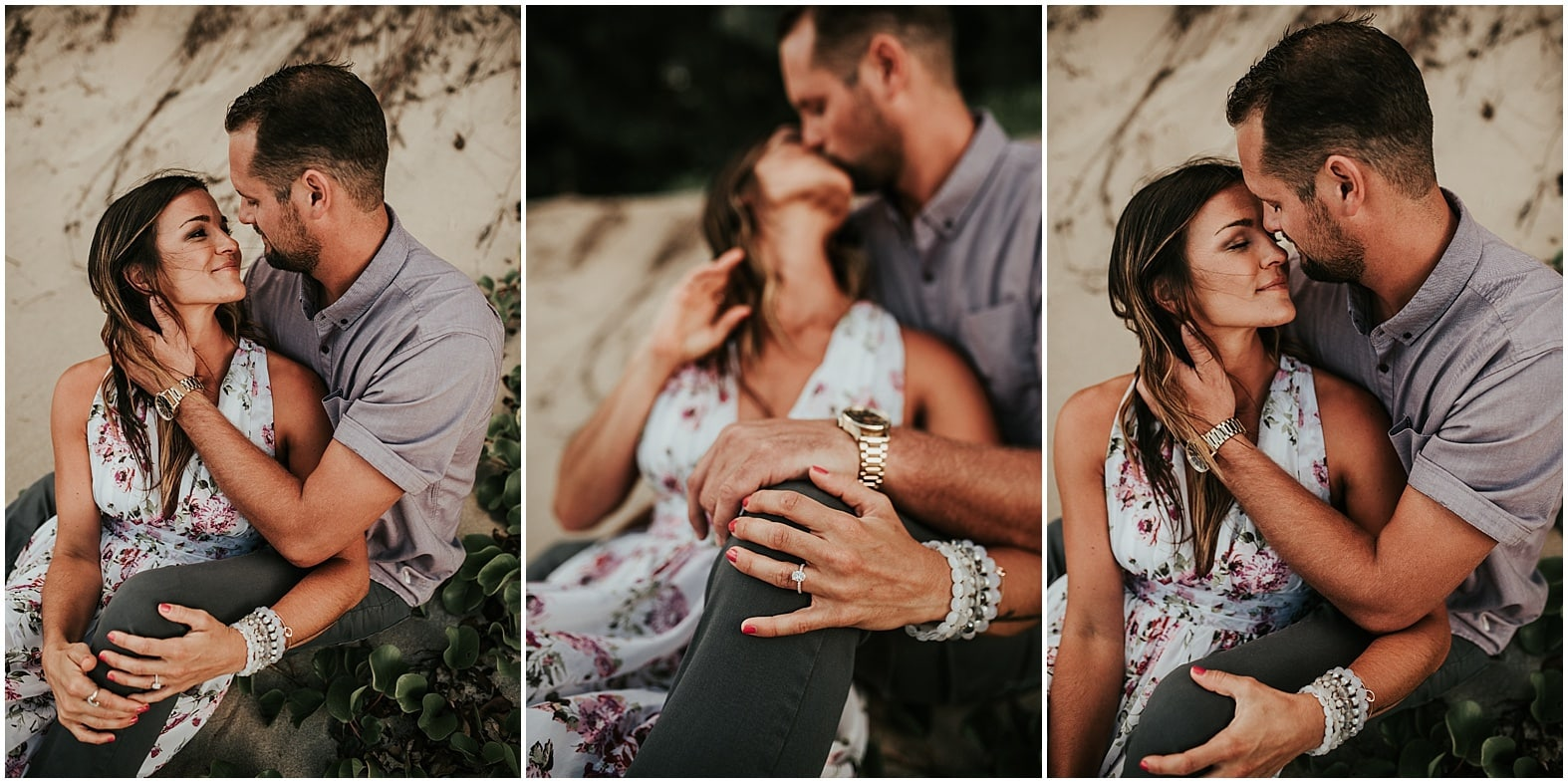 Stefanie and Derek ~ Engagement session in Kapalua, Hawaii