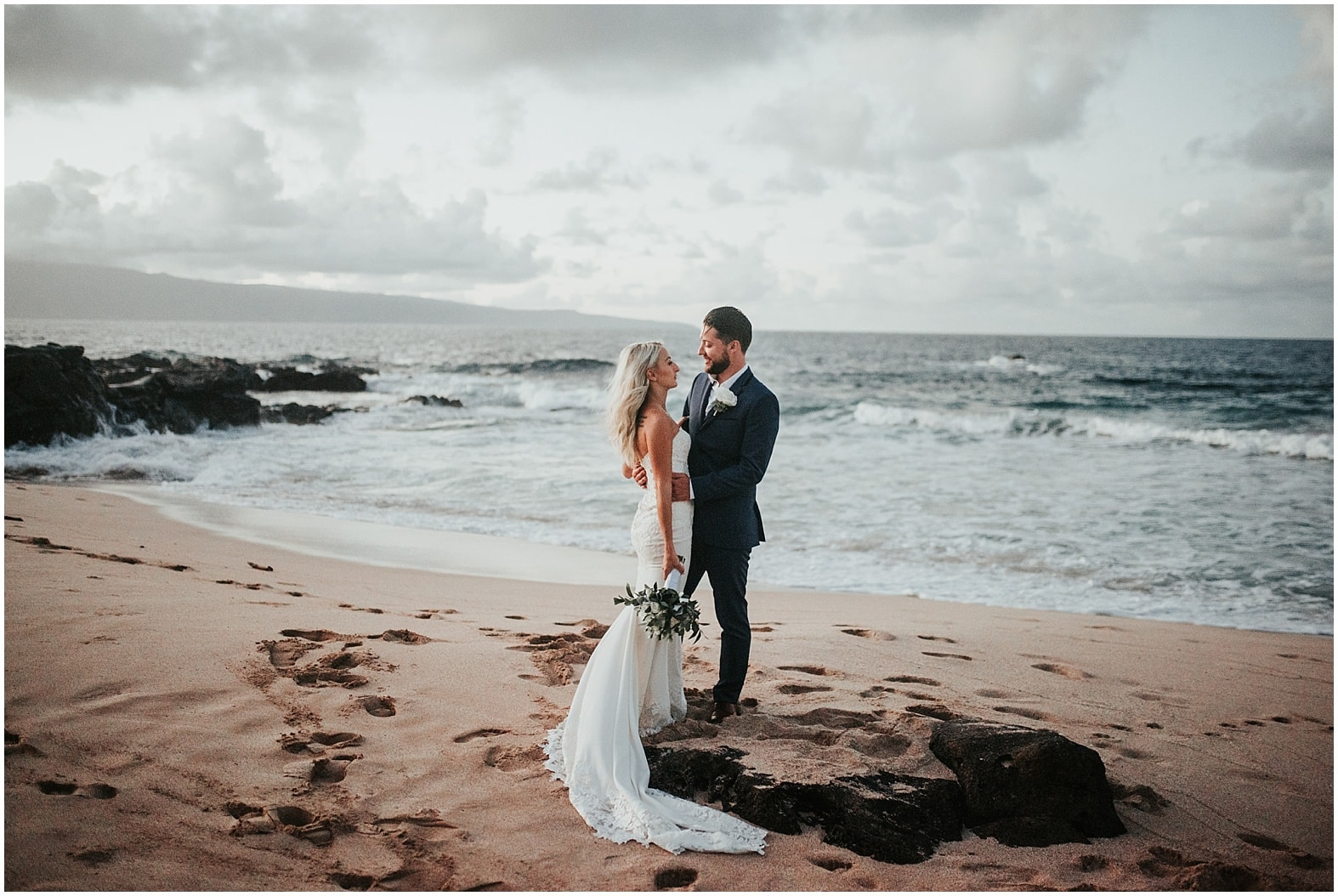 Sam & Raph ~ Wedding day at Royal Lahaina Hotel ~ Ka'anapali, Hawaii
