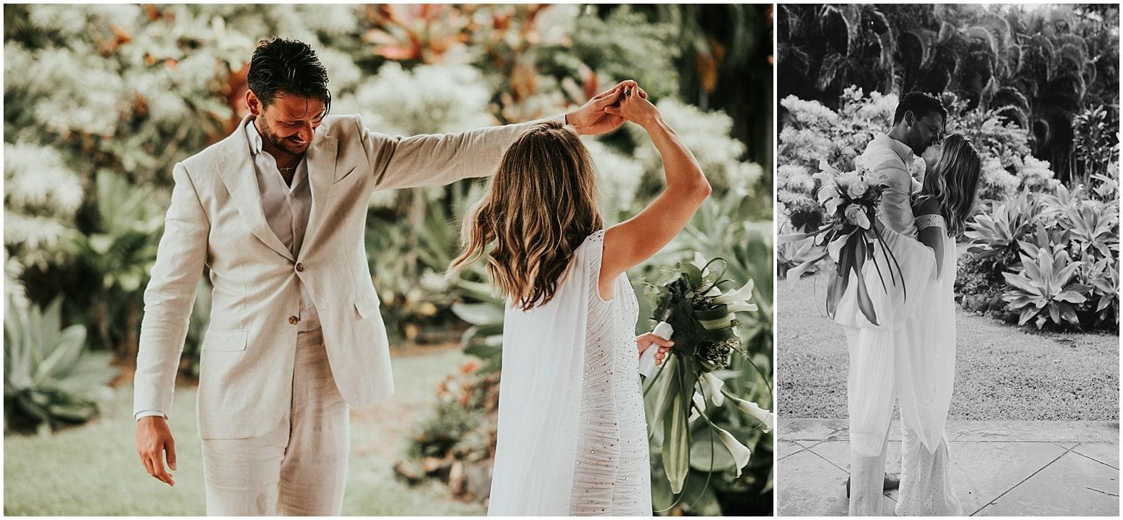 Val & Will | Wedding day ~ Huelo, Hawaii