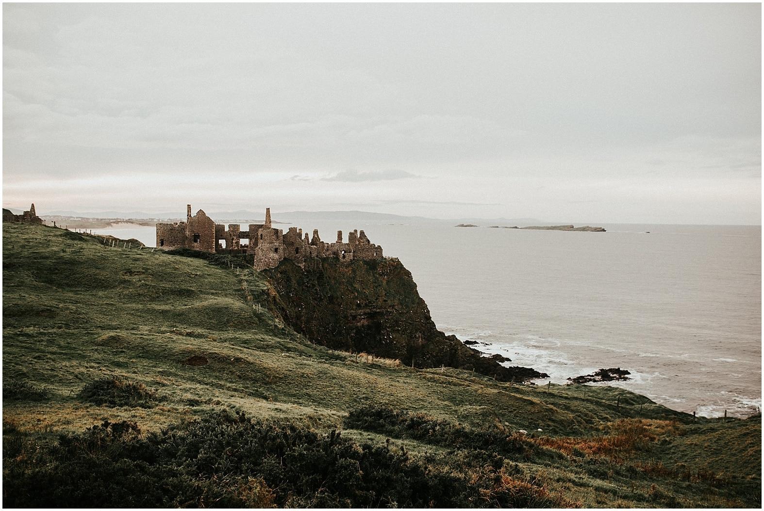Jessica and Danilo ~ Dunluce Castle, Northern Ireland
